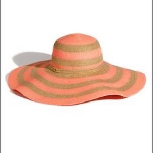 JUICY COUTURE summer sun beach floppy straw hat ☀️